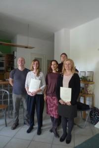 Balogh Diána és Földessy Nikoletta Alexander tanárok, 2017